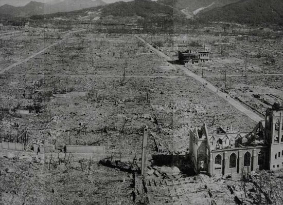 One nuclear bomb leveled the entire city of Hiroshima